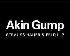 Annual Fundraiser - Akin Gump Logo