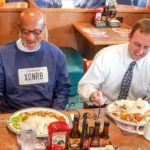 Horace Roberts Exonerated, Eats Meal
