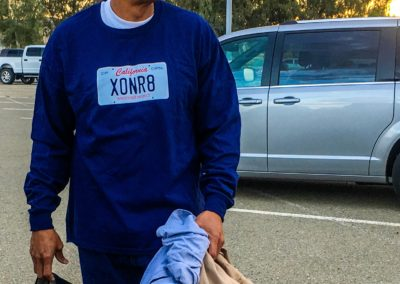 Horace Roberts wearing new XONR8 clothes